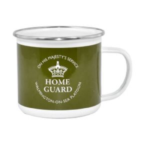 Dad's Army Home Guard Tin Mug